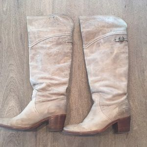 Frye Jane Tall Cuff - Taupe